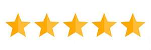 Five Stars Rating Vector Icon 38133 30